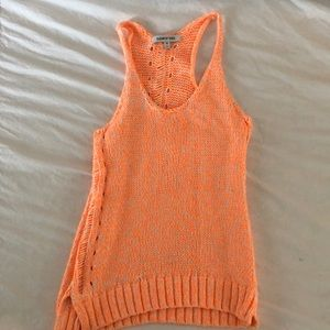 Elizabeth and James knitted tank